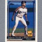 1992 Topps Baseball Gold Winners #288 Andujar Cedeno - Houston Astros