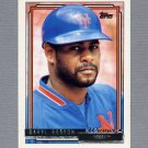 1992 Topps Baseball Gold Winners #227 Daryl Boston - New York Mets