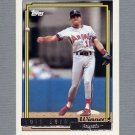 1992 Topps Baseball Gold Winners #206 Luis Sojo - California Angels