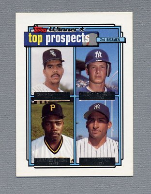 1992 Topps Baseball Gold Winners #179 Cesar Bernhardt/Bobby DeJardin/Armando Moreno/Andy Stankiewicz