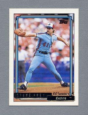 1992 Topps Baseball Gold Winners #174 Steve Frey - Montreal Expos