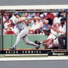 1992 Topps Baseball Gold Winners #173 Brian Downing - Texas Rangers