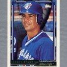 1992 Topps Baseball Gold Winners #072 Eddie Zosky - Toronto Blue Jays