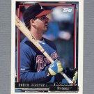 1992 Topps Baseball Gold Winners #049 Damon Berryhill - Atlanta Braves