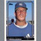 1992 Topps Baseball Gold Winners #046 Steve Farr - New York Yankees
