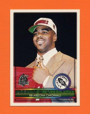 1996 Topps Football #433 Leeland McElroy RC - Arizona Cardinals