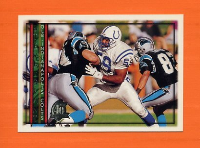1996 Topps Football #403 Stephen Grant - Indianapolis Colts