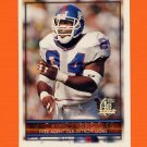 1996 Topps Football #398 Michael Brooks - Detroit Lions