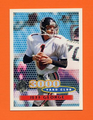 1996 Topps Football #374 Jeff George TYC - Atlanta Falcons