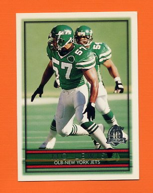 1996 Topps Football #345 Mo Lewis - New York Jets