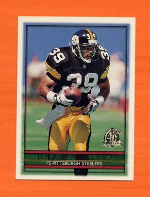 1996 Topps Football #331 Darren Perry - Pittsburgh Steelers