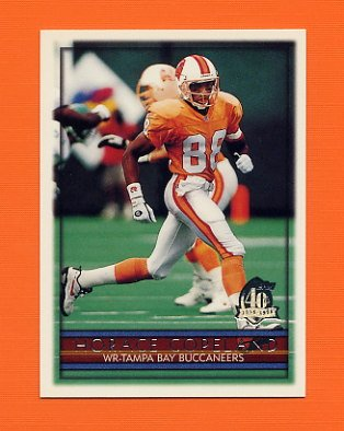 1996 Topps Football #323 Horace Copeland - Tampa Bay Buccaneers