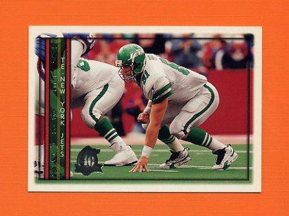 1996 Topps Football #316 Kyle Brady - New York Jets