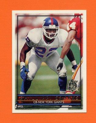 1996 Topps Football #305 Phillippi Sparks - New York Giants