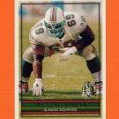 1996 Topps Football #276 Keith Sims - Miami Dolphins