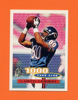 1996 Topps Football #260 Curtis Conway TYC - Chicago Bears