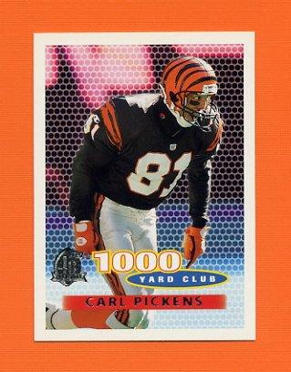 1996 Topps Football #251 Carl Pickens TYC - Cincinnati Bengals