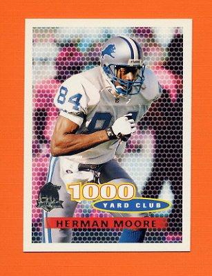 1996 Topps Football #243 Herman Moore TYC - Detroit Lions