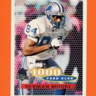 1996 Topps Football #243 Herman Moore TYC - Detroit Lions