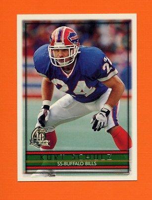 1996 Topps Football #233 Kurt Schulz - Buffalo Bills