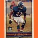 1996 Topps Football #222 Marty Carter - Chicago Bears