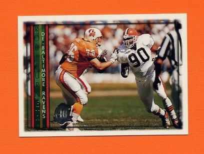 1996 Topps Football #217 Rob Burnett - Baltimore Ravens