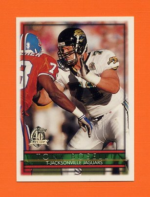 1996 Topps Football #215 Tony Boselli - Jacksonville Jaguars