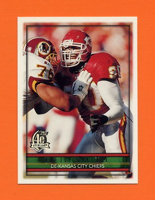 1996 Topps Football #210 Neil Smith - Kansas City Chiefs