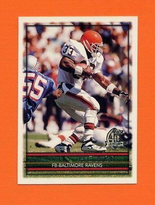 1996 Topps Football #181 Leroy Hoard - Baltimore Ravens