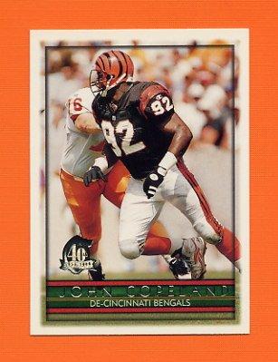 1996 Topps Football #168 John Copeland - Cincinnati Bengals