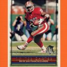 1996 Topps Football #164 Dexter Carter - San Francisco 49ers