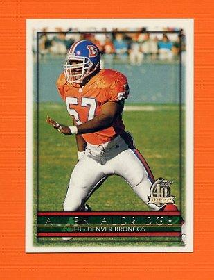 1996 Topps Football #159 Allen Aldridge - Denver Broncos