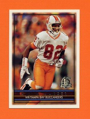 1996 Topps Football #157 Alvin Harper - Tampa Bay Buccaneers