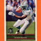 1996 Topps Football #105 Terry Kirby - Miami Dolphins