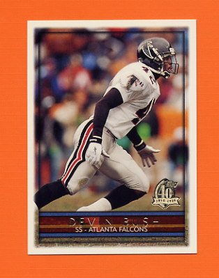 1996 Topps Football #093 Devin Bush - Atlanta Falcons