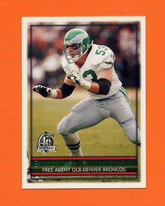 1996 Topps Football #063 Bill Romanowski - Denver Broncos