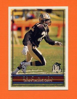 1996 Topps Football #062 Eric Allen - New Orleans Saints