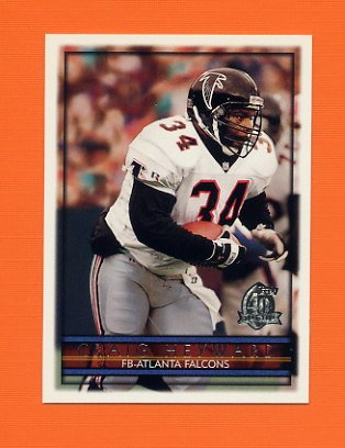 1996 Topps Football #061 Craig Heyward - Atlanta Falcons