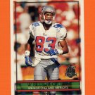 1996 Topps Football #054 Will Moore - New England Patriots