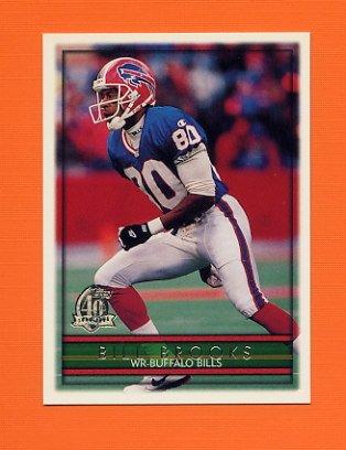 1996 Topps Football #039 Bill Brooks - Buffalo Bills