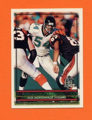 1996 Topps Football #028 Keith Goganious - Jacksonville Jaguars