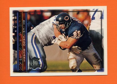 1996 Topps Football #013 Jim Flanigan - Chicago Bears