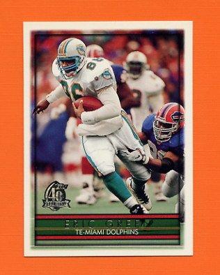 1996 Topps Football #012 Eric Green - Miami Dolphins