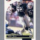 1996 Score Football #168 Mike Jones - Oakland Raiders