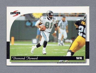 1996 Score Football #106 Desmond Howard - Jacksonville Jaguars