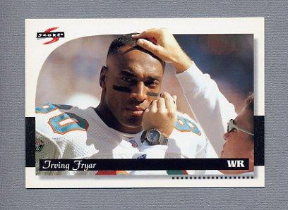 1996 Score Football #080 Irving Fryar - Philadelphia Eagles