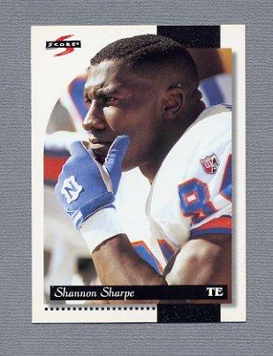 1996 Score Football #060 Shannon Sharpe - Denver Broncos