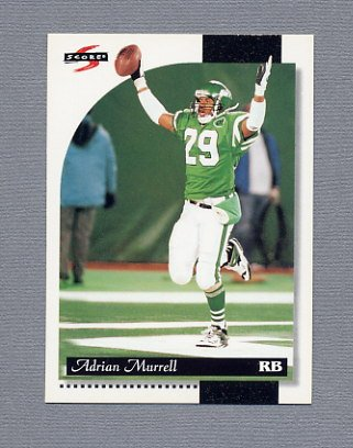 1996 Score Football #027 Adrian Murrell - New York Jets