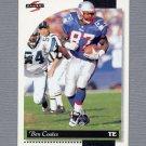 1996 Score Football #020 Ben Coates - New England Patriots