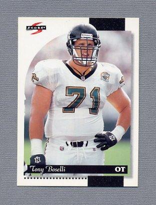 1996 Score Football #011 Tony Boselli - Jacksonville Jaguars